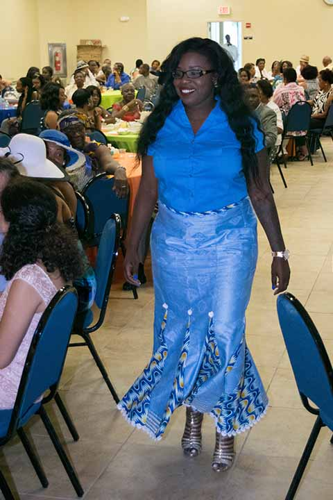 Tea Party & Fashion Show July 2015