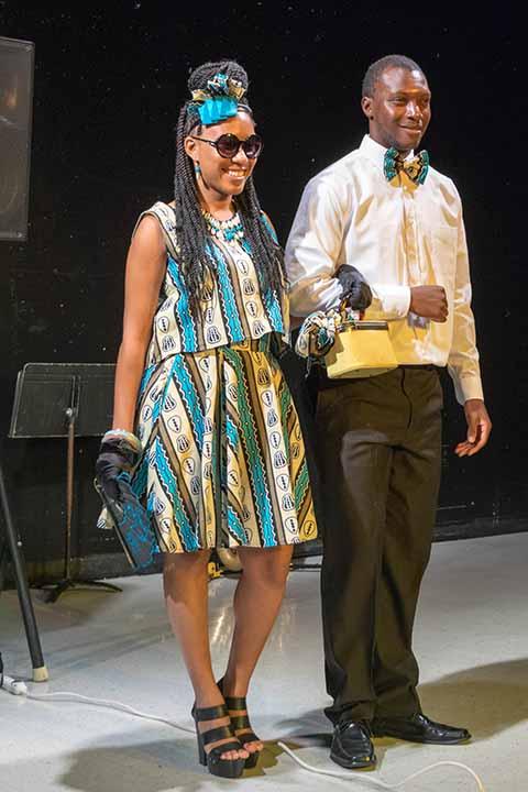 Tea Party & Fashion Show July 2015
